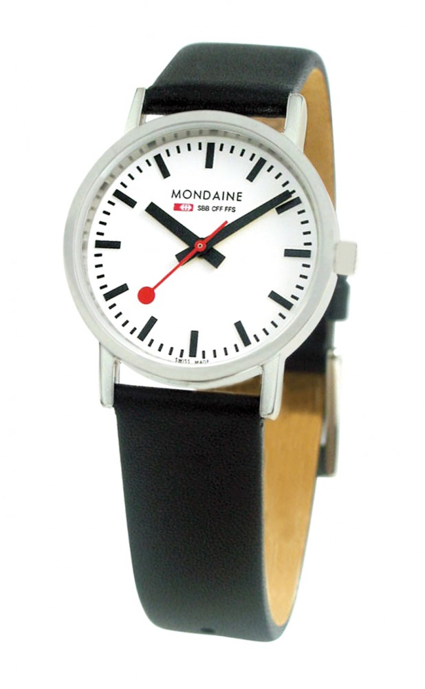 CLASSIC30MM BRUSHED black strap