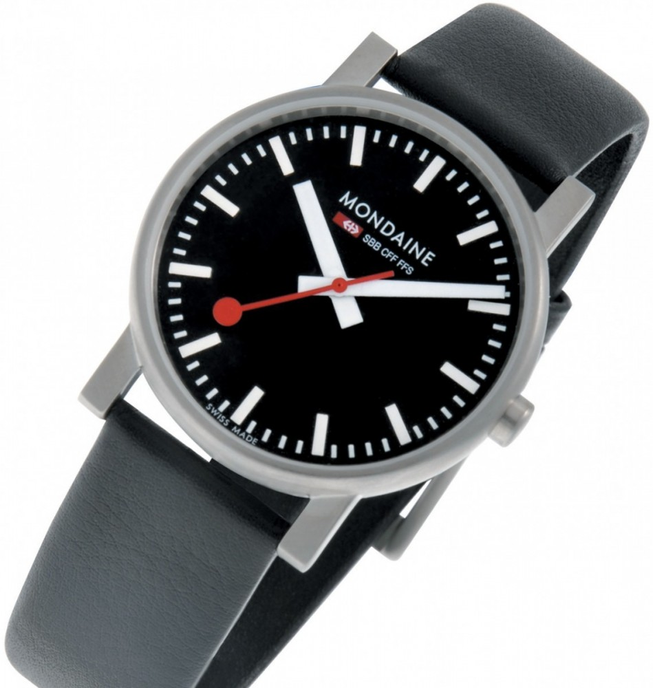 WATCH EVO BLACK DIAL  35MM